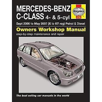 Mercedes-Benz C-Class Service et manuel de réparation (Haynes Service et manuels de réparation)