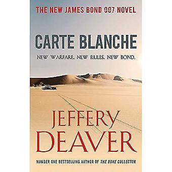 Carte Blanche: De nieuwe James Bond thriller