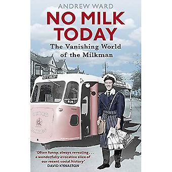 Geen melk vandaag