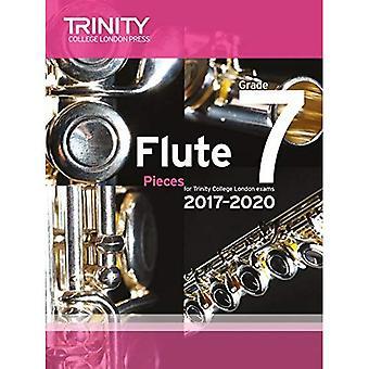 Trinity College London: Flöjt examen bitar Grade 7 2017 – 2020 (poäng & del)