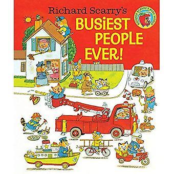Richard Scarry de drukste mensen ooit!