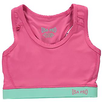USA dzieci Pro Fitness upraw Top Juniorska Dziewczęta