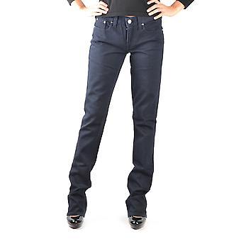 Ralph Lauren Ezbc037021 Kvinder's Black Cotton Jeans