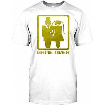 Game Over - brud og brudgom - hjorten gøre parti Herre T Shirt