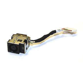 HP Sátorral véd DM4-1004tx rövid kábel változat (legyen szíves ellenőriz a kép) visszahelyezés laptop egyenáram alsó konnektor-val kábel