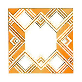 Ultimate Crafts Hotfoil Stamp - Geometric Frame
