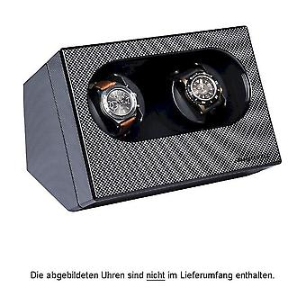Augusta Uhrenbeweger for two watches carbon gloss 5569.211