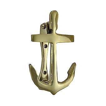 Antique Brass Nautical Anchor Door Knocker