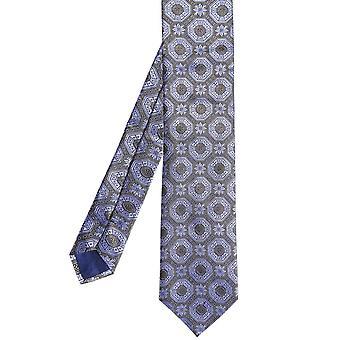 ربطة عنق هندسية حريرية