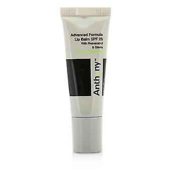 Anthony Logistics for men avancerad formula Lip Balm SPF 25-Mint och vitt te-7g/0.25 oz