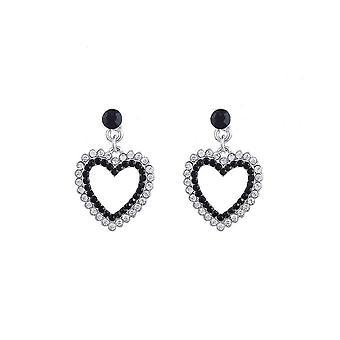 Fable Womens/Ladies Heart Earrings