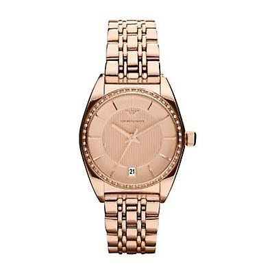 Emporio Armani Ar0381 Women's Classic Retro Rose Gold Bracelet Watch