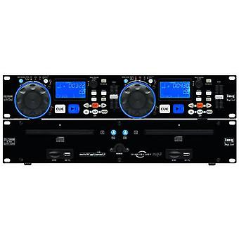 IMG STAGELINE CD-230USB DJ Twin CD MP3 speler