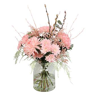 Bouquet from Botanicly – Bunch of flowers - coral – Height: 60 cm, 15 branches