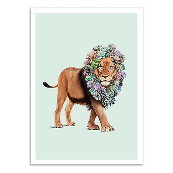 Art-Poster - Leone succulento - Jonas Loose 50 x 70 cm