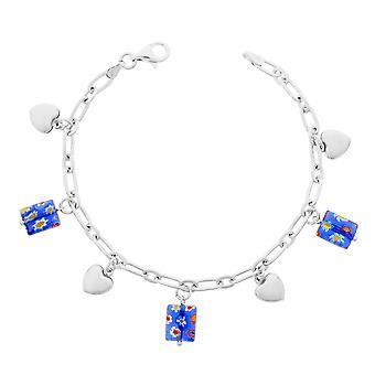 Armband 19Cm blauw