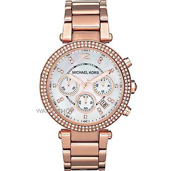 Michael Kors Mk5491 Montre Bracelet Chronographe Dames