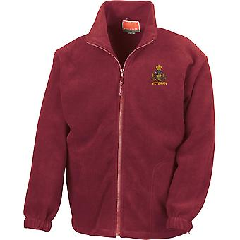 Royal Monmouthshire Royal Engineer Veteran - Licensed British Army Embroidered Heavyweight Fleece Jacket