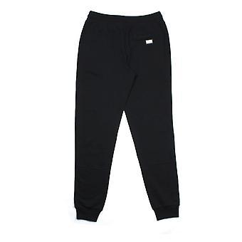 Dolce et Gabbana Metal Logo Patch Sweatpants Noir N0000