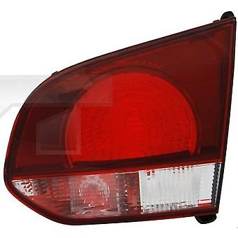 RH Tail Lamp (On Boot Lid Smoke Red/Clear Hatchback) For GOLF mk6 2008-2013