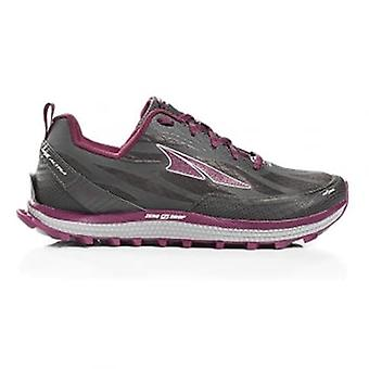 Altra Superior 3.5 Womens Zero Drop & Footshape Toe Box Trail Running Shoes Grey/purple