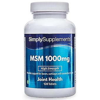 MSM - 1000mg - 180 compresse