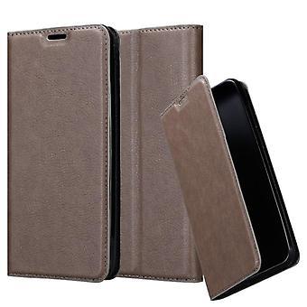 Cadorabo Hülle für Samsung Galaxy A10 Case Cover - Handyhülle mit Magnetverschluss, Standfunktion und Kartenfach – Case Cover Schutzhülle Etui Tasche Book Klapp Style