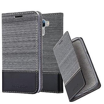 Cadorabo Hülle für Honor 7 hülle case cover - Handyhülle mit Magnetverschluss, Standfunktion und Kartenfach – Case Cover Schutzhülle Etui Tasche Book Klapp Style