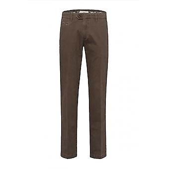 Brax Everest Cotton Trouser Brown