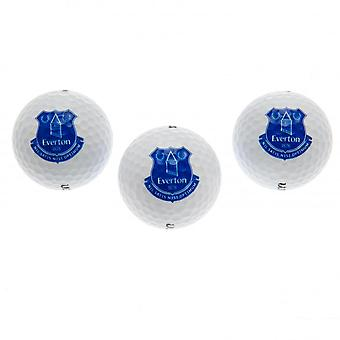 Everton FC Golf Balls (Set Of 3)