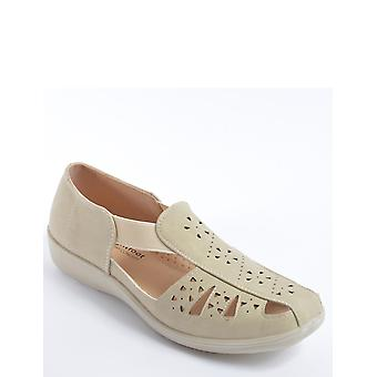 Chums damas lado elástico slip en el zapato