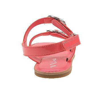 Nina Kids Brunny Ragazze' Toddler-Youth Sandal 3 M US Little Kid Coral-Brevetto
