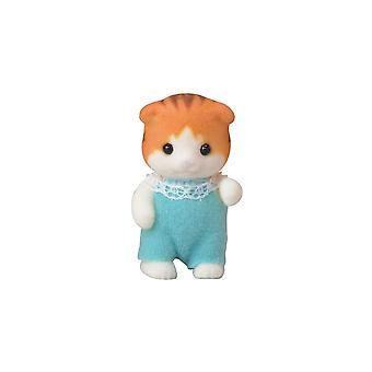 Sylvanian Families  5291  Maple Cat Baby