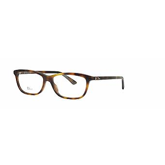 Dior Montaigne 56 086 Dark Havana Glasses