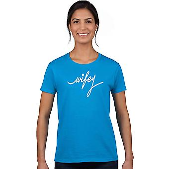 Junior's camiseta Wifey