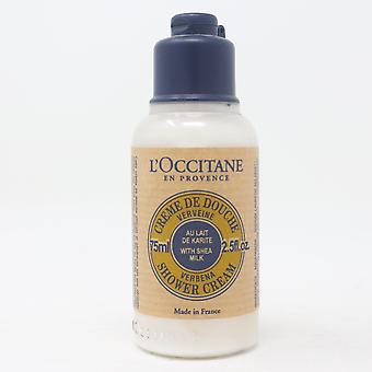 Crème douche Verbena verbe l'apos;occitane (Pack Of 2) 2.5oz/75ml New Withoutbox