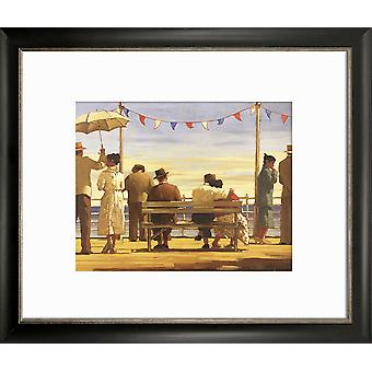 """Jack Vettriano Framed Print Wall Art Picture 6 Designs Falmouth Black 12x10"""""""