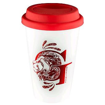 Harry Potter Gryffindor Foil Logo Reusable Cup