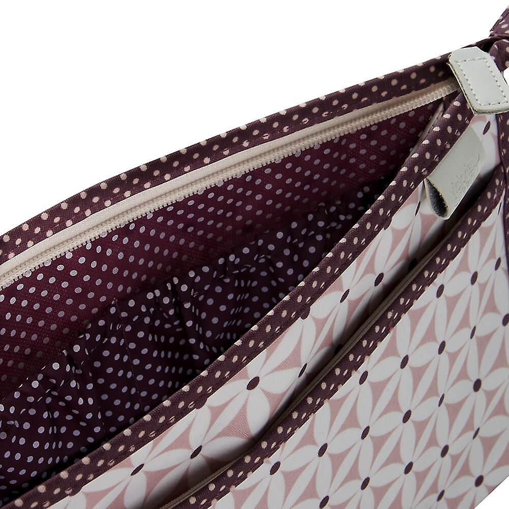 'victoria green' classic wash bag - starflower blush