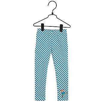 Pippi Longstocking op Oblique-legging turkoois