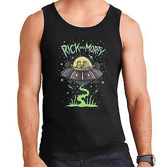 Rick and Morty In The Space Cruiser Men's Vest
