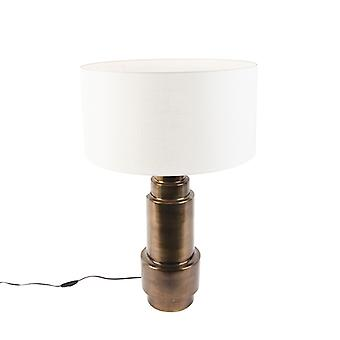 Lampada da tavolo Art deco QA-QA con tonalità bianco 50 cm - Bruut