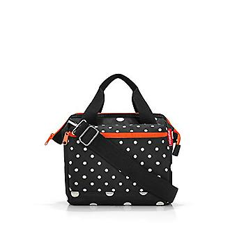 Reisenthel allrounder cross mixed dots Bag Messenger 24 centimeters 4 Black (Mixed Dots)