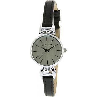 Lancaster watch watches DIVA LPW00305 - watch DIVA leather black woman