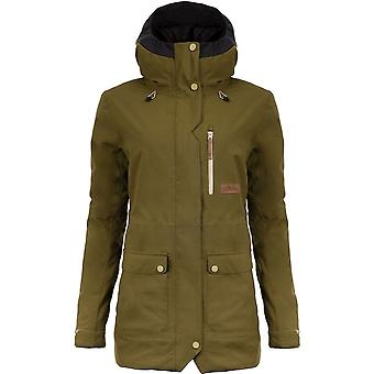 Planks Women's All Time Insulated Jacket - Army Green