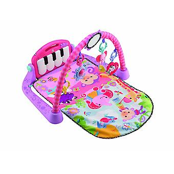 Fisher Price Kick And Play Piano PINK Gym