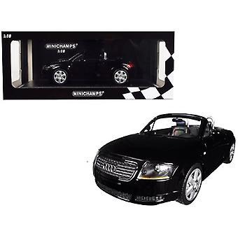 1999 Audi TT Roadster Black Limited Edition à 300 pièces dans le monde 1/18 Diecast Model Car par Minichamps