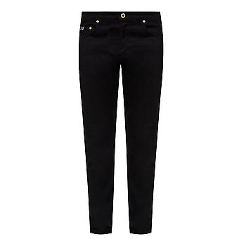 Versace Jeans Couture Slim Fit Black Jeans