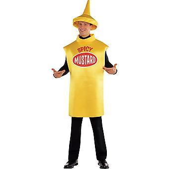 Men Mustard Bottle Costume
