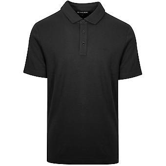 Michael Kors Michael Kors clássico Polo camisa preta
